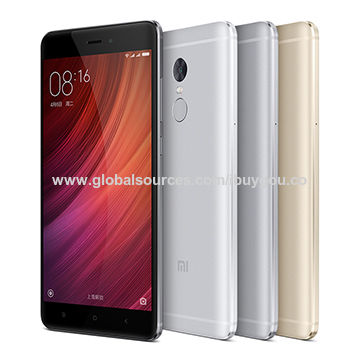 China Redmi Note4 64G Gold Phone, Official Global Version from Factory