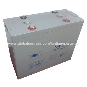 China Deep Cycle 2V 800Ah Gel Solar Lead Acid Battery For Solar