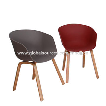 hay chair raw material pp with best quality solid bent leg global