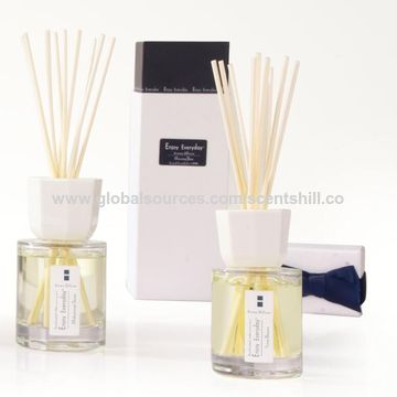 China Wholesale 100mL natural fresh indoor home volatile perfume high quality reed diffuser