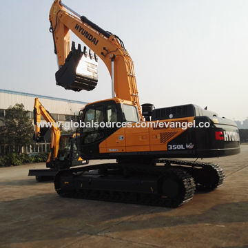 China Excavator for Hyundai Brand 35-ton Bucket 1 6m<sub>3