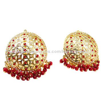 online earrings stud colored silver india shopping golden earring jewelry