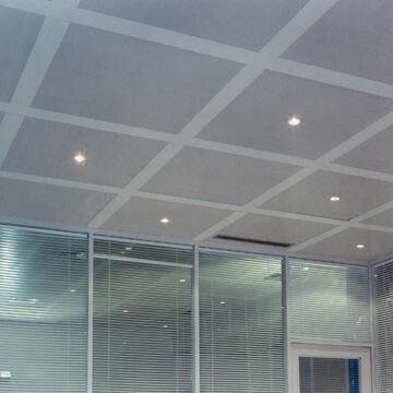 China Metal Aluminum Perforated Clip In Square Ceiling Tile