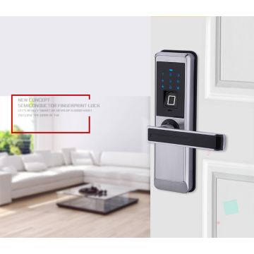 China Battery Operated Electronic Door Locks/Home Office Security System  Electronic Fingerprint Password D