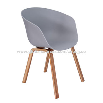 Modern plastic chair China Modern plastic chair  sc 1 st  Global Sources & Modern plastic chair bentwood armchair with wood legs | Global Sources