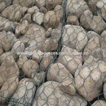 China Gabion wire mesh,high corrosion resistance, high strength, ductility