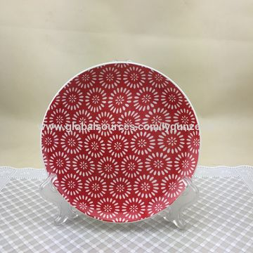 China Ceramic moonlight plate for dinner from Linyi Trading Company ...