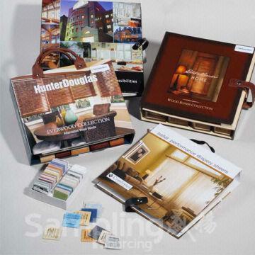 China Sample Book For All Types Of Window Shade Fabrics Sample Book Design  100% Custom