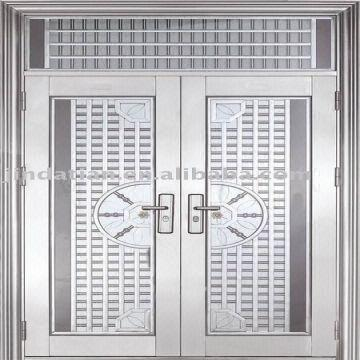 China Stainless steel doorsentrance security main doorgrills doors & Stainless steel doorsentrance security main doorgrills doors ...