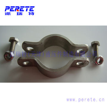 Heavy duty Flat steel tube clamp pipe clamp saddle clamp | Global