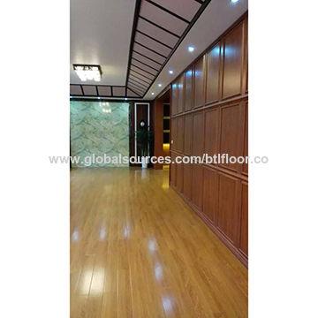 PVC Flooring Vinyl Plank Luxury Vinyl Tile With UV Coating For Hall - Vinylboden für industrie