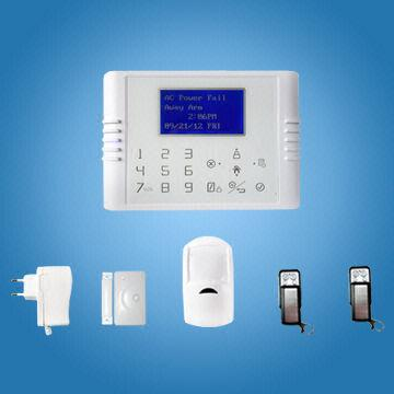 China Quad Band GSM   PSTN Dual Network Touch Keypad Wireless Home Burglar  Alarm System with. Quad Band GSM   PSTN Dual Network Touch Keypad Wireless Home