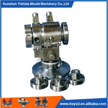 U7 fixed center double layer co-extrusion cross head for wire