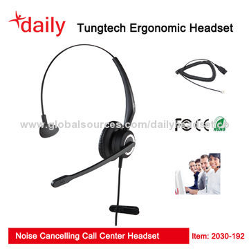 db1cc252417 ... China Call Center Headset, 3.5mm jack Connector, For IP phone, CE&FCC  Approvals ...