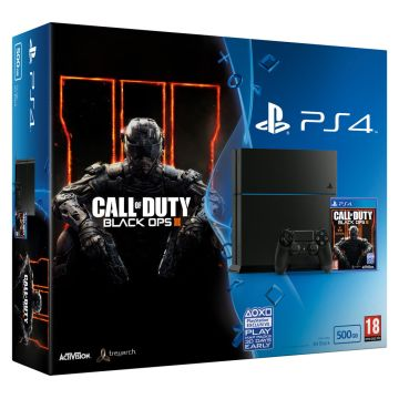 Sony Playstation 4 With Call Of Duty Black Ops 3 Bundle Global