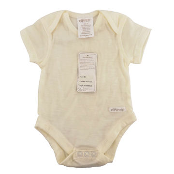 2f8cd70de 100% merino wool short sleeve baby romper