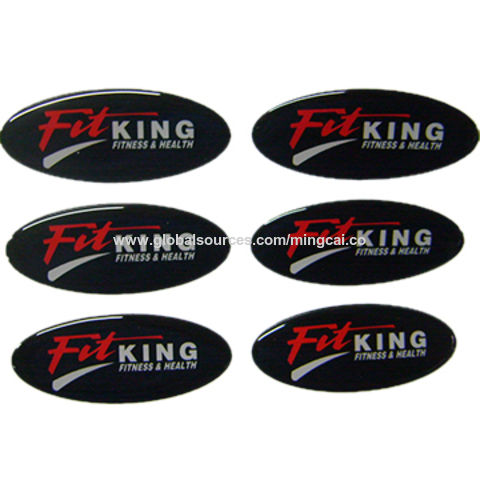 3M adhesive epoxy resin domed 3d gel sticker