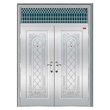 China Best Price Stainless Steel Door New Design Model