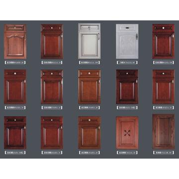 Vinyl Wrap Kitchen Cabinet Mdf Coated Pvc Door Panel
