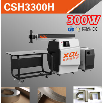 China YAG Laser Welding Machine 300W 500W for Channel Letters Signage Stainless Steel Aluminum