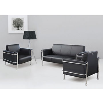Office modern sectional leather sofa
