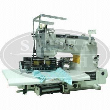 40 Needle Double Chainstitch Elastic Thread Shirring Smocking Fascinating Sewing Machine Smocking