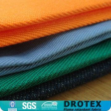 40b81e70ff38 ... China 100% Cotton 260gsm Twill Flame Resistant Fabric