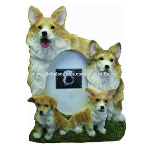 China Bsci Factory Polyresin Picture Frame Welsh Corgi Dog Family Figurines Table Photo Frames On Global Sources Photo Frame Polyresin Pictures Frame Resin Photo Frame