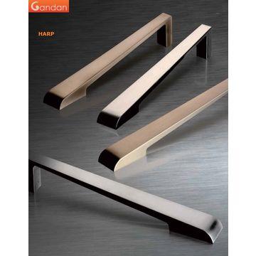Taiwan GANDAN Zinc Cabinet Handles,Simplicity Zinc Furniture  Handles,Streamline Zinc Drawer Pulls Handles