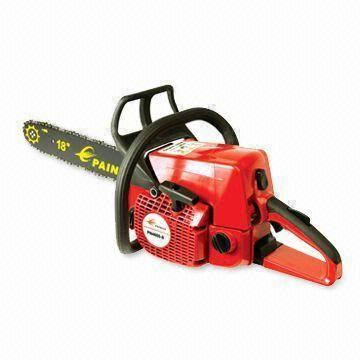 Chainsaw with 49 3cc Displacement, Tool-less chain tensioning system