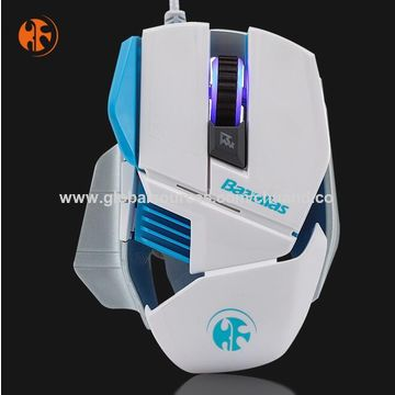 China Backlit Gaming Mice,Computer Gaming Mouse, 2400DPI USB Wired Optical Mouse