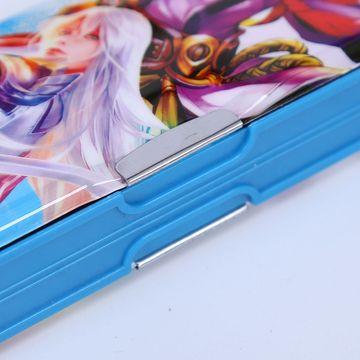 China Plastic pencil box with a pencil sharpener student pencil case OEM design