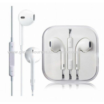 93cf8d7e663 ... China OEM Earpods Earphones Earbuds for iPhone 5/5S/6S/6+, ...