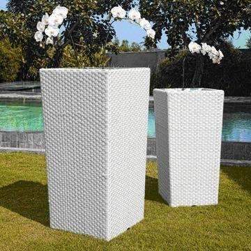 Global Sources & Outdoor and Indoor Poly Rattan Flower Pots