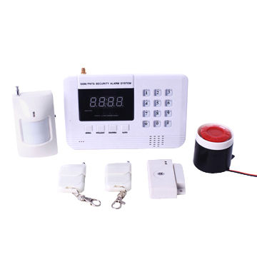Gsm Wireless Smart Security Alarm System With Voice 433mhz 99 Defense Zone Wired Siren Global Sources