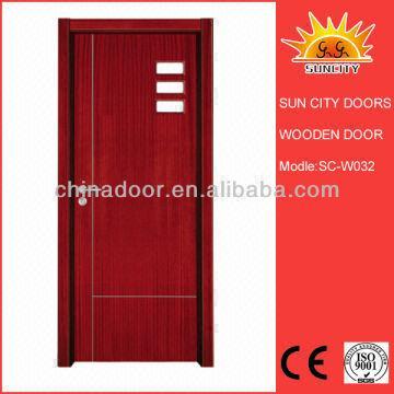 Door Supplier Best Selling Teak Wood Designer Entry Door Sc