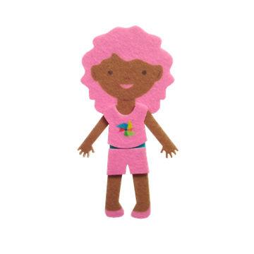 China Soft Felt Dressing Toys for Girls
