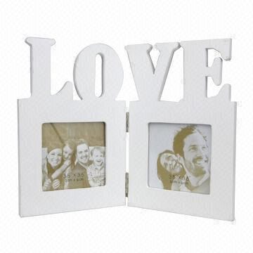 China Wooden Multiple Photo Frame, Home Love, Foldable on Global Sources