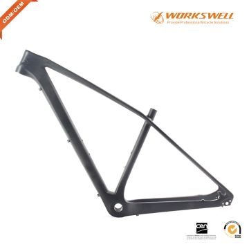 XS Carbon Fiber 29ER Hardtail Mountain Bike Frame made in China with ...