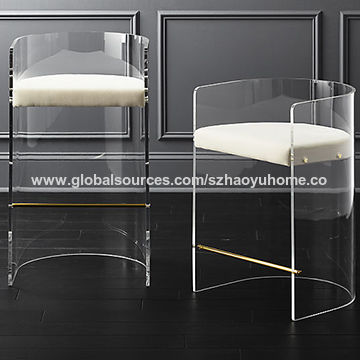 new style 0526f 48ba4 China Modern Clear Acrylic Bar Stools from Shenzhen ...