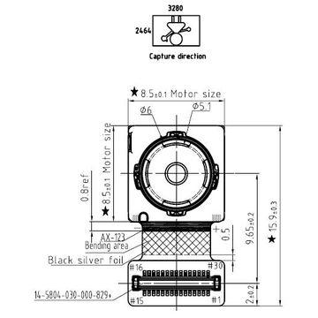 mobile phone camera module SUNNY Q8N09Q IMX179 sony sensor 8MP MIPI