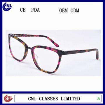 New model eyewear acetate optical frame glasses newest trendy ...