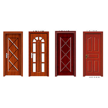 ... China Modern Main House Steel Gate Design Construction Building  Materials Pvc Exterior Security Door Price ...