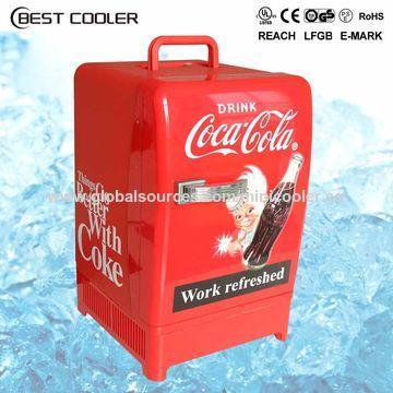 China 12L 12V dual-use mini car refrigerator