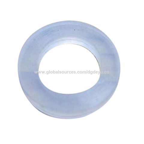 China Clear food grade silicone rubber gasket on Global Sources