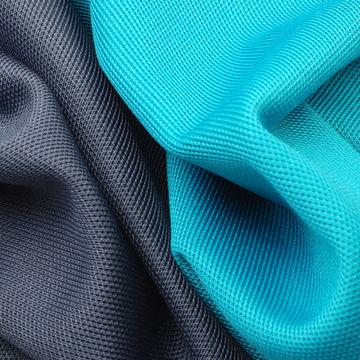 Taiwan Moisture Absorbent Fabric in 95% Polyester + 5% Spandex Interlock Pique
