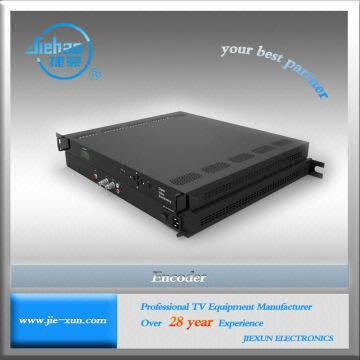 Jiexun Satellite Cable TV ASI WIFI Video Encoder 4:2:0 MP ML