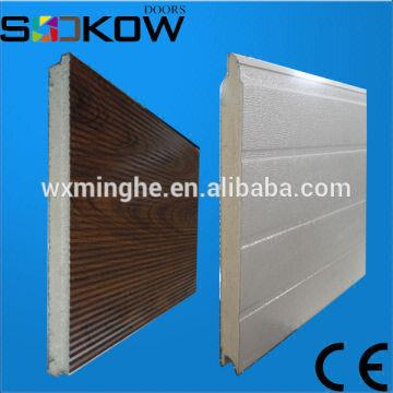 ... China Polyurethane Foam Panel Sectional Door/garage Door Sandwich Panels