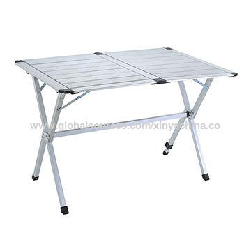 Enjoyable China Folded Aluminum Picnic Table From Yongkang Creativecarmelina Interior Chair Design Creativecarmelinacom