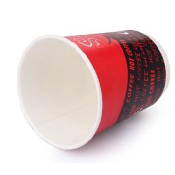China 8oz double wall coffee paper cup